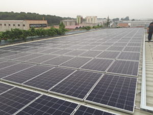 Instalación fotovoltaica comexi